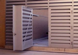 Acoustic Louver Doors