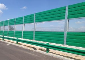 Polycarbonate Noise Barriers